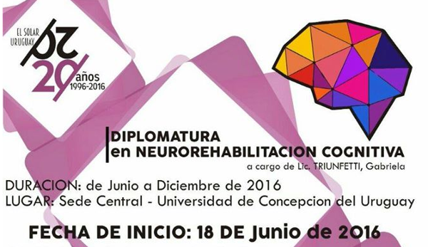 Diplomatura en Neurorehabilitacion cognitiva